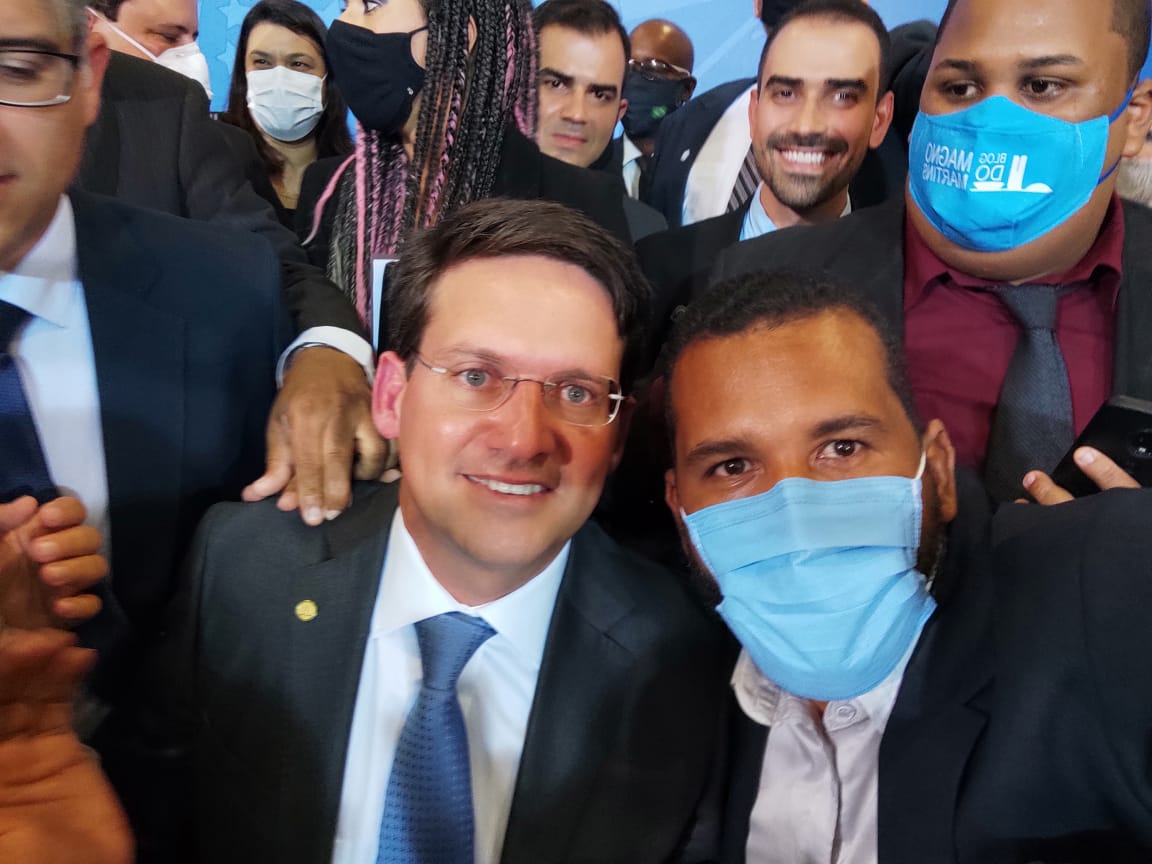 Tiago Dias prestigia posse do novo Ministro da Cidadania