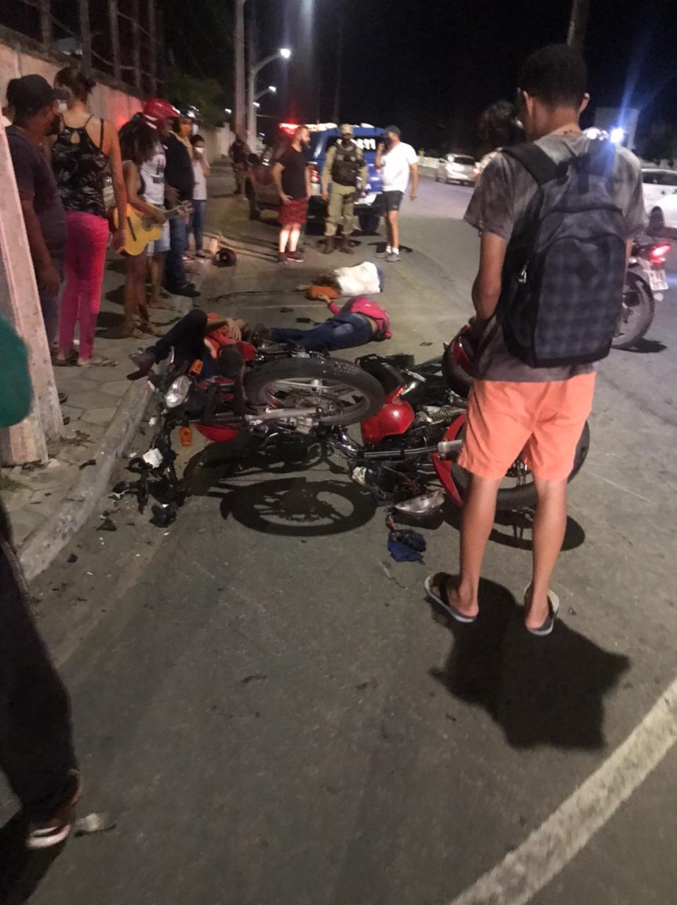 Jacobina: Acidente mata funcionária do Hospital Antônio Teixeira Sobrinho