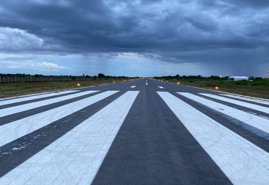 Aeroporto de Irecê está em fase de conclusão