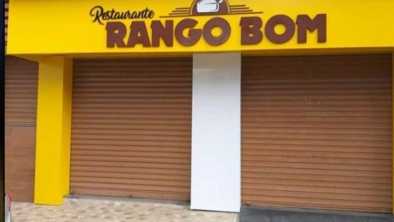 De Volta ao batente: Restaurante Rango Bom reabre após recesso de 21 dias