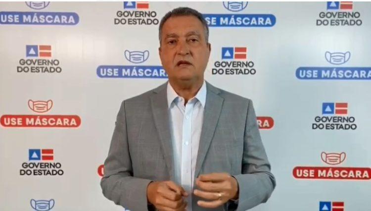 Bahia: Governador Rui Costa decreta Toque de Recolher em todo o estado