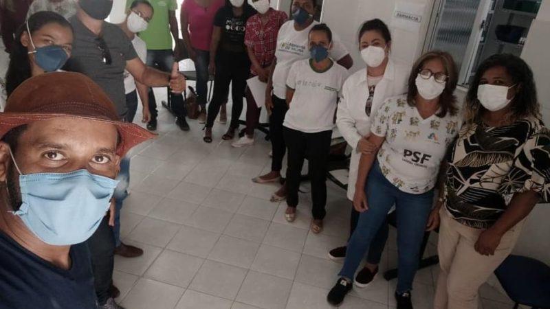 Jacobina: Vereador Valnei dos Anjos visita UBS Ladeira Vermelha e amplia parcerias para região de Cafelândia
