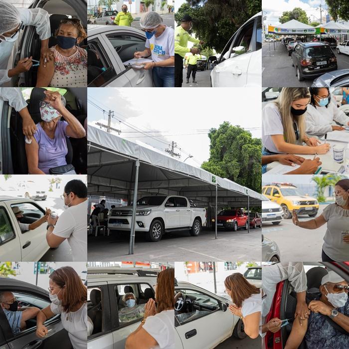 Prefeitura de Juazeiro realizou vacinação de idosos neste domingo