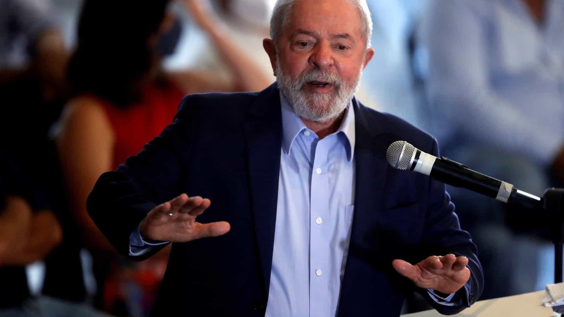 Lula admite possível candidatura em 2022