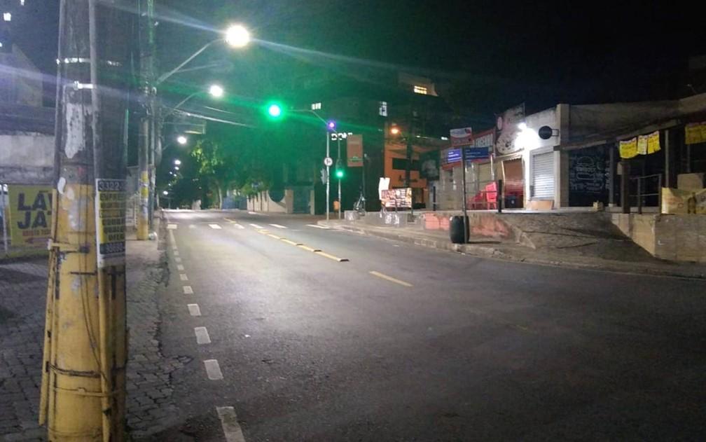 Toque de Recolher será mais cedo na Bahia a partir do dia 22 de março