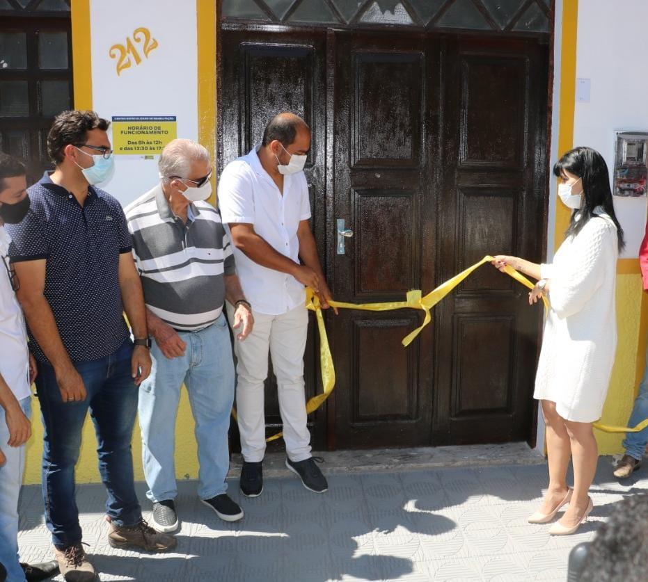 Prefeitura de Morro do Chapéu inaugura Centro Especializado de Reabilitação