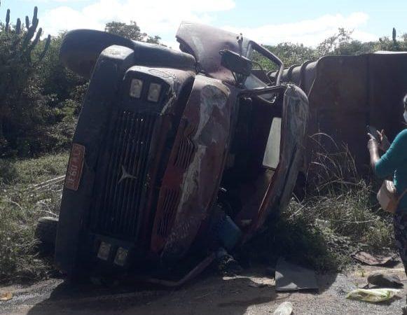 Acidente deixa 01 morto e três feridos em Taquarendi município de Mirangaba