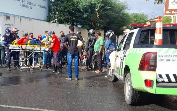 Jacobina: Após receber notícia do falecimento de um familiar homem se envolve em acidente próximo à UNEB