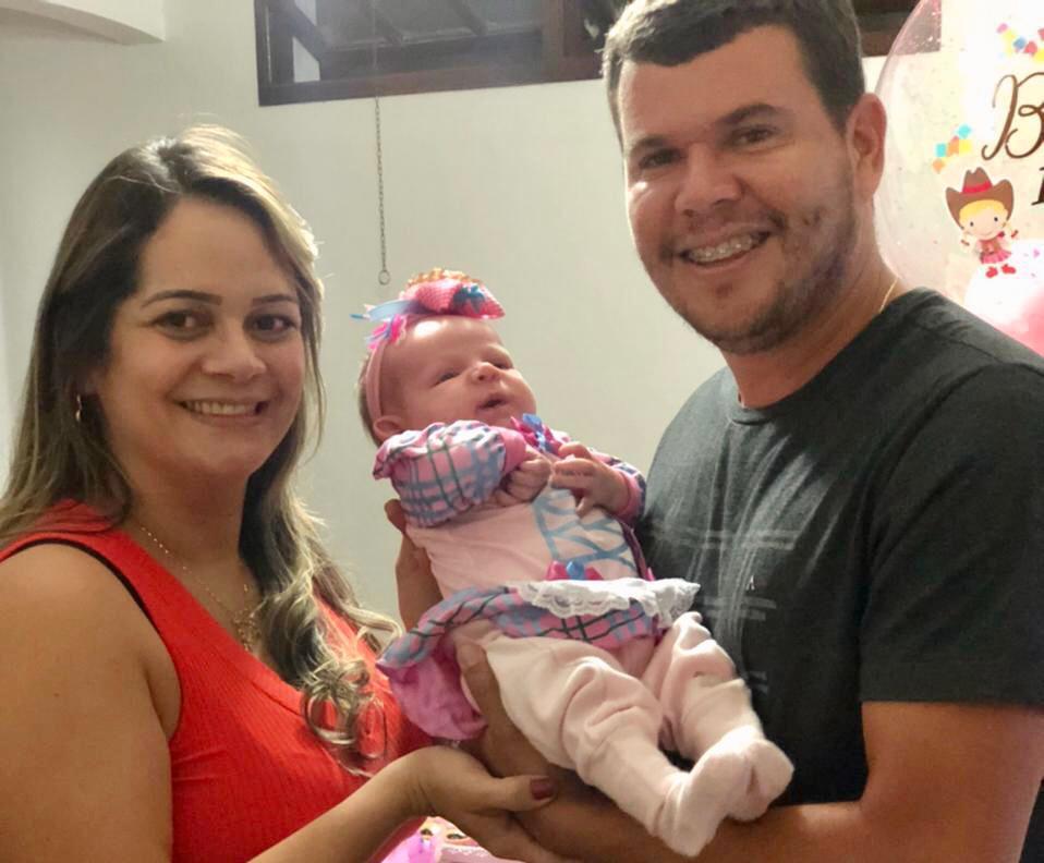 Jacobina: A pequena Beatriz é o primeiro bebê jacobinense a nascer com anticorpos para covid-19