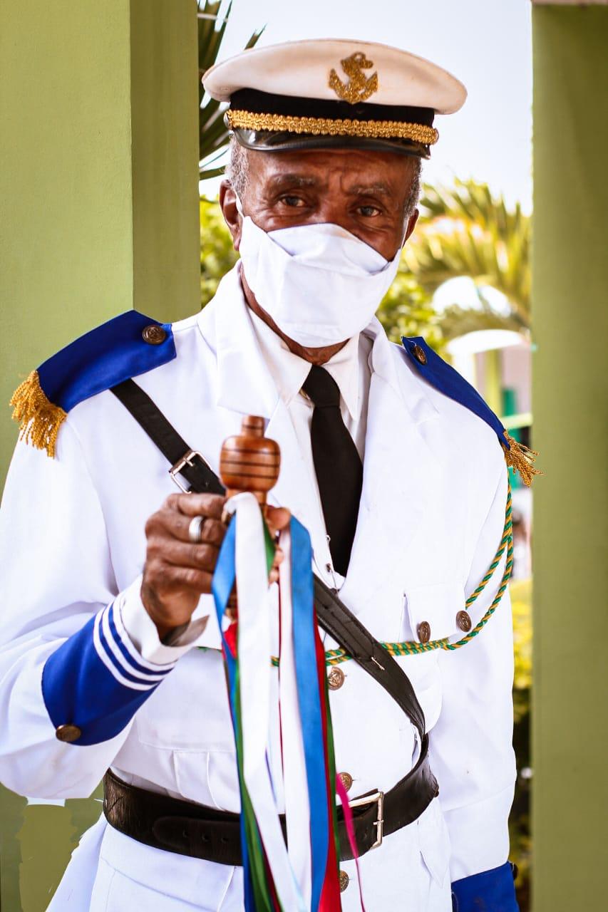 COVID-19: Ícone da cultura jacobinense, o marujo Mestre Edvaldo foi vacinado nesta terça-feira (08)
