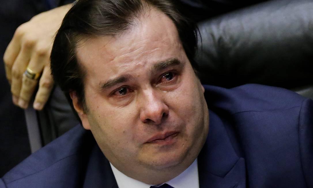 Escreveu, não leu… Rodrigo Maia é expulso do DEM por unanimidade