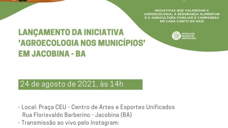Iniciativa Agroecologia nos Municípios é lançada em Jacobina