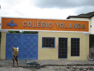 Alunos do 9º ano do Colégio Yolanda Dias Rocha realizam enquete em que avaliam o município de Jacobina