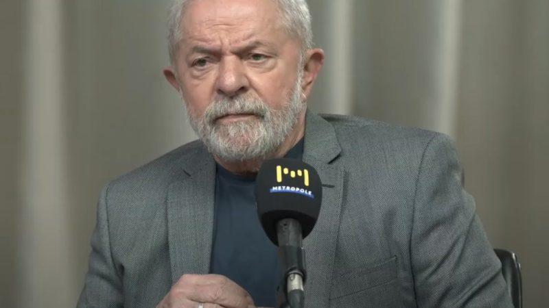 Lula ironiza terceira via e diz que vai regular os meios de comunicação