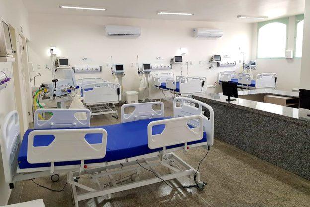 Saúde: UTI do Hospital Regional em Jacobina chega à menor taxa de ocupação desde o mês de Janeiro